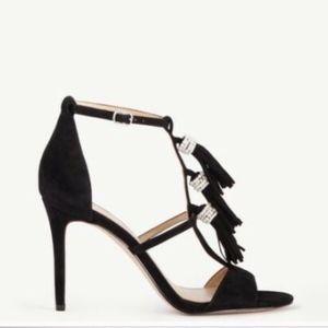 NIB Ann Taylor Suede High Heel Sandals Shoes